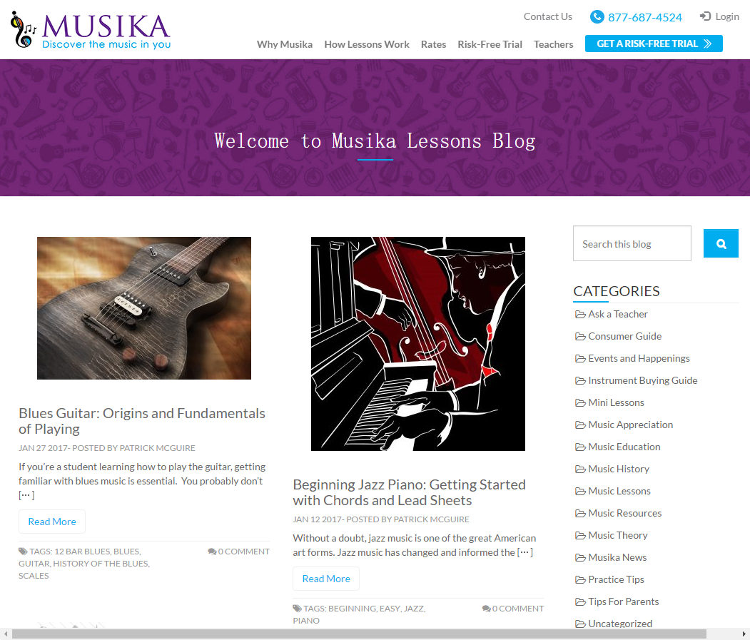 Musika Lessons Blog