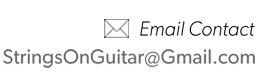 StringsOnGuitar.com Email Contact