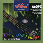 Colourful Electric Bass Strings by Alice